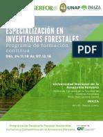 PFG Inventarios Forestales 2018
