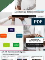 Deontología de La Comunicación
