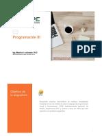 Clase S1 Programacion III