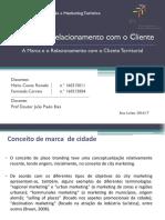 A marca e o  o relacionamento com o  cliente  territorial.pptx