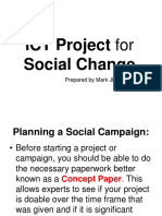ICT Social Change (Concept Paper Activity)