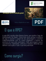 Instroducao Ao RPG