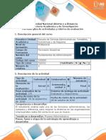 Guía de Actividades y Rubrica de Evaluación - Paso 2 - Elaborar El Proceso Administrativo en Una Empresa Como Estudio de Caso