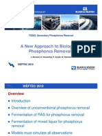 A New Approach to Biological Phosphorus Removal