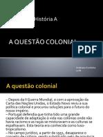 A Questão Colonial