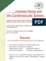 Ruido Ambiental y El Sistema Cardiovascular