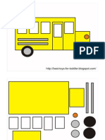 School Bus Matching Game