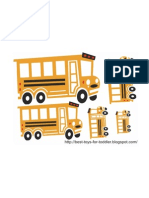 School Bus Size Sequence