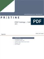 FRM VaR Preparation Pristine
