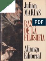 Julian Marias - Razon de La Filosofia