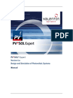 PVSOL Expert - Manual