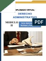 Guia Didactica 2 - Acto Administrativo, Nulidad y Suspension