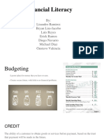 financial literacy presentation