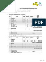 Cara Menghitung Rab Rumah Minimalis Type 36 Dan 45 Excel