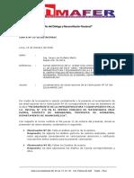 Carta Nº 33-Levantamiento de Observaciones Valor Nº 03 Mayunmarca