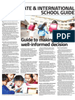 Private & International School Guide - 30 October 2018