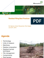 Residual Piling Best Practices
