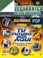 Toda La Electrónica en Tres Fascículos 1