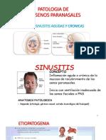 3era Clase Patología de Los Senos Paranasales