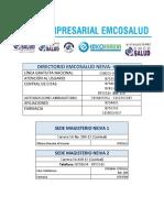 directorio emcosalud