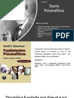 Slides de Conteúdo - Unidade 2 - Psicanálise