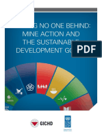 Leaving No One Behind-Mine Action and SDGs