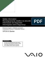 VPCS13 Series Safety