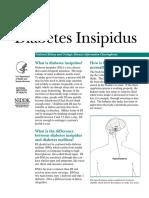 1. Diabetes Insipidus