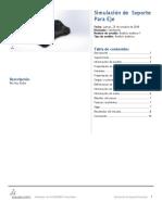 Soporte Para Eje-Análisis Estático 1-1