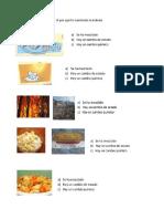 Examen Ciencias y Ambiente
