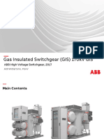 Gas Insulated Switchgear (GIS) 170 kV