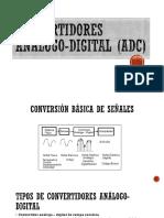 Convertidores Análogo-digital (ADC)