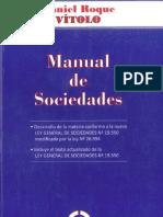 Vitolo - Manual de Sociedades