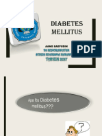 Ppt atau Lembar Balik Diabetes Mellitus