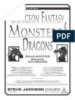 GURPS 4th Edition - Dungeon Fantasy Monsters 4 - Dragons.pdf