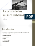 La Crisis de Los Misiles Cubanos