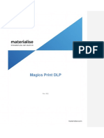 Magics Print DLP User Guide