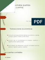 El Registro Contable y Las Cuentas.