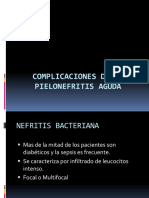 Complicaciones de Pielonefritis Aguda