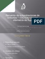 Citometria de Flujo - Conteo de Linfocitos T