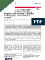 Cardiomiopatia en Septicos ESPAÑOL