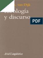 Van DIJK, Ideologia y Discurso