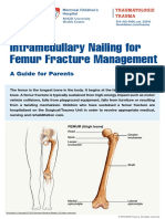 Intramedullary Nailing for Femur Fracture Web Version English
