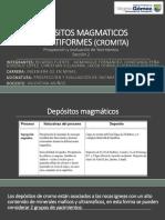 Depositos Magmaticos Estratiformes (Cromita)
