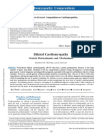 Dilated Cardiomyopathy, Genetic Determinants and Mechanisms