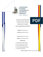 Primer Informe de Laboratorio de Comunicaciones-I