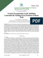 Vertical Irregularities in R.C Buidlings