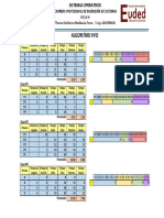 Algoritmo de Planificacion FIFO