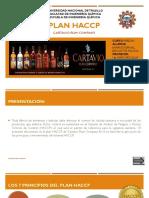 Plan Haccp -Cartavio Rum Company