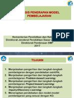b.2.c. Analisis Penerapan Model Pembelajaran